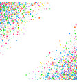 abstract pattern confetti vector image