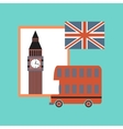 flat icon on stylish background United Kingdom set vector image