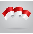 Indonesian waving Flag vector image