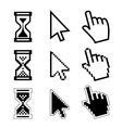 icon cursor of mouse vector image