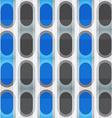 blue ellipse seamless pattern vector image
