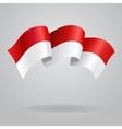 Indonesian waving Flag vector image