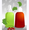 alternative medicine vector image vector image