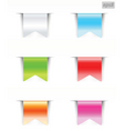 ribbons blank vector image