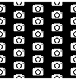 Camera symbol seamless pattern vector image