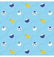 pattern lake vector image