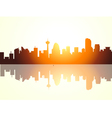 Calgary Morning vector image
