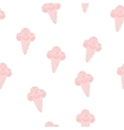 Pattern Ice Cream eps 10 vector image