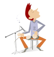Percussionist vector image