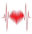 Srce impuls resize vector image vector image