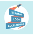 Concept design for start up project with vector image