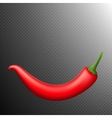 Red chili pepper isolated EPS 10 vector image vector image