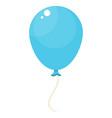 blue balloon icon vector image