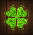 abstract clover leaf vector image