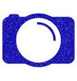 photo camera icon grunge watermark vector image