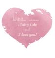 love is vector image