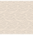 abstract decorative wave seamless pattern vector image