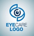 EYE CARE LOGO 10 vector image