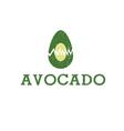 icon Avocado Fruit Food vector image