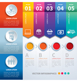 infographics set templates vector image