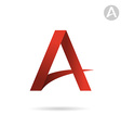 A letter sign vector image