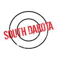 south dakota rubber stamp vector image