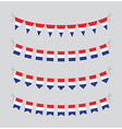 dutch bunting vector image