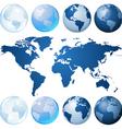globe kit vector image