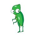 Buprestis beetle cartoon vector image