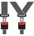 Seat Belt Icon vector image vector image