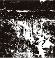 Black and white grunge background vector image