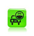 cars thief icon vector image vector image