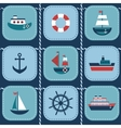 background with water transport vector image