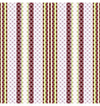 Seamless striped pattern vector image vector image