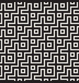 maze tangled lines contemporary graphic abstract vector image