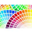 color spectrum palette background vector image