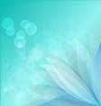 bule lotus vector image