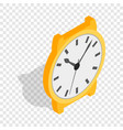 swiss watch isometric icon vector image