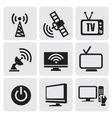 tv screens set vector image