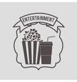 entertainment concept design vector image