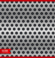 circle metal chrome texture background vector image