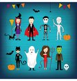 Halloween Card vector image