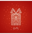 Abstract Gift vector image