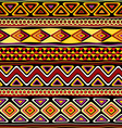 afrikan seamless ornament vector image