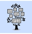 Memories tree with frames vector image