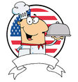 Cartoon chef vector image vector image