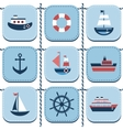 blue background with water transport vector image vector image