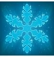 Shiny Snowflake vector image