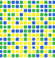 mosaic brazil background vector image vector image