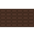 chocolate bar background of chocolate vector image